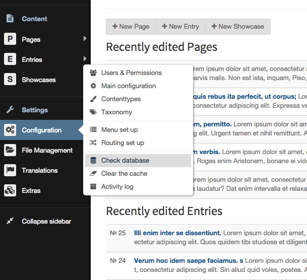 ContentTypes and Records   Bolt Documentation